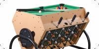 Многофункциональные игровые столы-трансформеры
