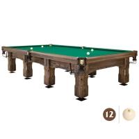 Бильярдный стол Витязь-Премиум 12 футов | пирамида