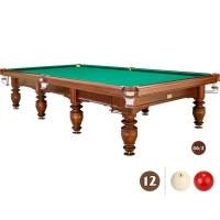 Бильярдный стол Магнат-Люкс 12 футов Б/У с аксессуарами