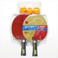 Набор теннисный - ракетки Level 200 2шт, мячи Club Select 3шт