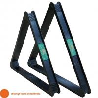 Треугольник Руптур | 68 и 60 мм (пластик)