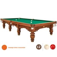 Бильярдный стол Барон 12 футов | пирамида, снукер