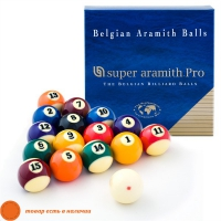 Комплект шаров Aramith Super Pro | ПУЛ 57,2 мм