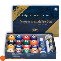 Набор Super Aramith Pro-Cup Value Pack | ПУЛ 57,2 мм