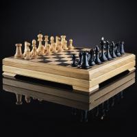 Шахматы Классические черно-белые | 495*495