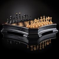 Шахматы Ретро Балет  | 500*500, самшит венге