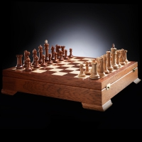 Шахматы Стаунтон коллекционный | 450*450, король 10 см