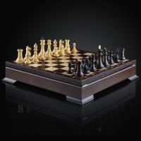 Шахматы Стаунтон  премиум | 450*450, король 10 см