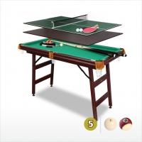 Бильярдный стол Fortuna 9в1 с аксессуарами | 5 футов