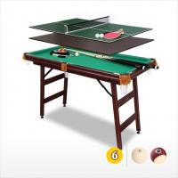 Бильярдный стол Fortuna 9в1 с аксессуарами | 6 футов