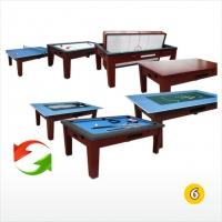 Многофункциональный игровой стол 6в1 Tornado | 6 футов