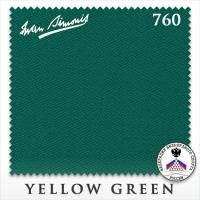 Сукно бильярдное Iwan Simonis 760 | Yellow Green 195 см