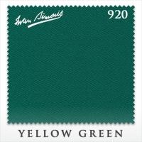 Сукно бильярдное Iwan Simonis 920 | Yellow Green 195 см