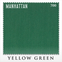 Сукно бильярдное Manhattan 700 | Yellow Green 195 см