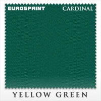 Сукно бильярдное Eurosprint Cardinal | Yellow Green 198 см
